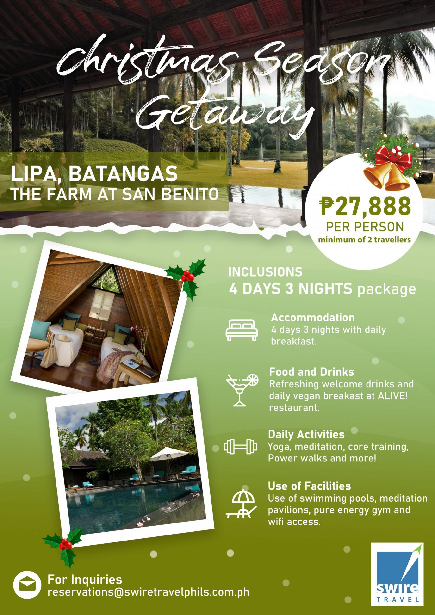 Lipa Batangas - The Farm at San Benito